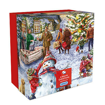 Gibson A White Christmas - 500pc Gift Box Jigsaw Puzzle