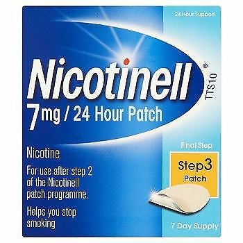 Nicotinell Nicotine Patch TTS10 Step 3 - 7 Days Supply
