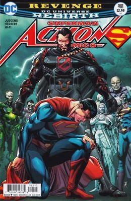 Action Comics #981 (2016) 1St Print Bag & Boarded Dc Rebirth Comics