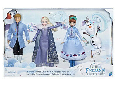 Disney Olaf's Frozen Adventure Festive Friends Collection