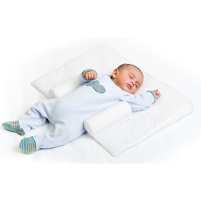 Doomoo Basics Supreme Sleep Large Baby Anti Roll Colic And Reflux Aid Bnib