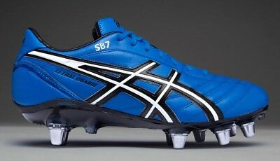 P029L 4290 Mens asics Lethal Charge Screw In Studs Rugby Boots Shoes Size UK 13