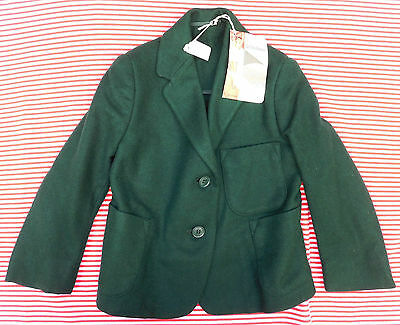 Vintage 1950s blazer green UNUSED girls school uniform Swan Lake Arthur Howard