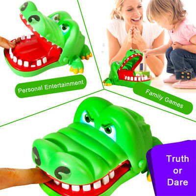 Crocodile Dentist Bite Finger Game Animal Croco Novelty Teeth Toy For Kids Gifts