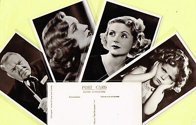 PICTUREGOER - MAIN Series 1930s Film Star Postcards #831 to #880 [Cinema/Movie]