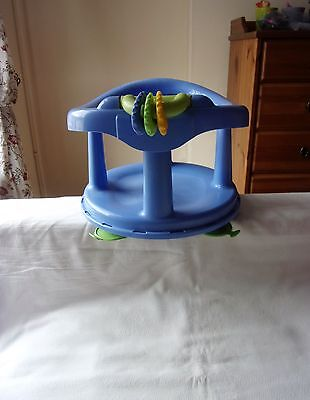 Safety 1st Pastal Blue Baby Swivel Bath Seat with Suction Cups