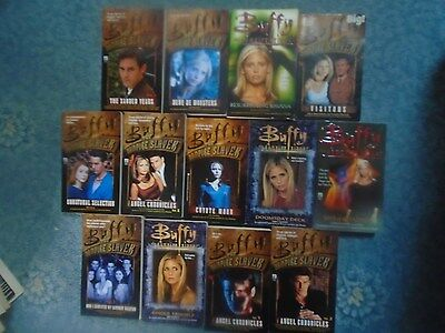 13 Buffy Vampire books: complete Angel Chronicles, Ghoul Trouble, Visitors, etc