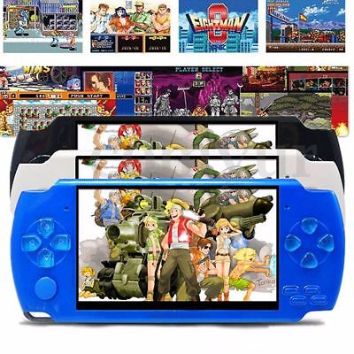 X6 4.3'' 8G 32 Bit Portable Handheld Game Console Player 1000+ Retro Games mp4