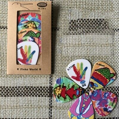 5pcs/Set Guitar Picks Acoustic Electric Guitar Pick Plectrum Ukulele Picks