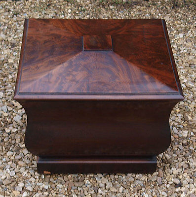 Superb Georgian Mahogany Wine Cooler - Delivery available