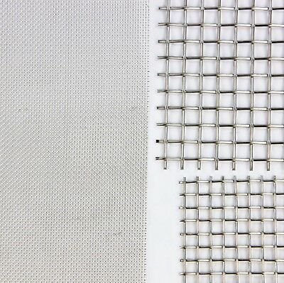FILTER MESH - STAINLESS STEEL WOVEN WIRE MESH - Lab Grading Mesh - 3 PACKS