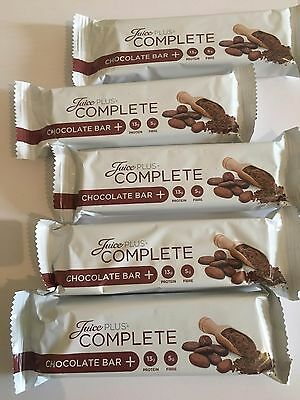 JUICE PLUS+ COMPLETE CHOCOLATE  BARS (5 Bars)