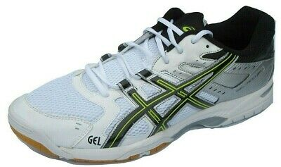 Mens ASICS Gel Rocket 6 Trainers Shoes Size UK 13 Indoor court Volleyball Eu 49
