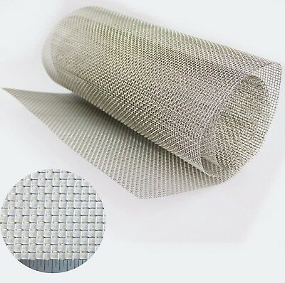 FILTER MESH - STAINLESS STEEL WOVEN WIRE MESH - Lab Grading Mesh-30 x 120cm Roll