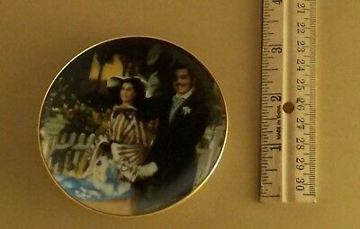 Gone With the Wind Golden Memories STROLLING IN ATLANTA Mini Plate #8 Movie
