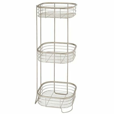 InterDesign Forma Free Standing Bathroom or Shower Storage Shelves for...