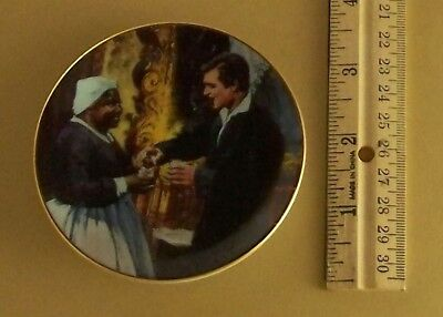 Gone With the Wind Golden Memories A TOAST TO BONNIE BLUE Mini Plate #11 Movie