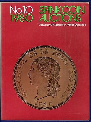 Spink Coin Auction Catalogue,  Sale No. 10, 1980, + Prices Realised (Ref. t0310)