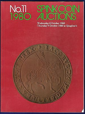Spink Coin Auction Catalogue,  Sale No. 11, October 1980 (Ref. t0303)