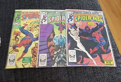 Spectacular spiderman 81-83 vfn classic trial of the punisher story arc