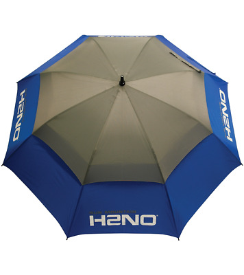 Sun Mountain Dual Canopy H2NO Golf Umbrella Blue / Grey