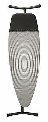 Brabantia Ironing Board with Iron Parking Zone, Size D, Extra Large - Titan Oval