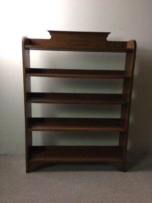 Antique Oak Bookshelf Bookcase