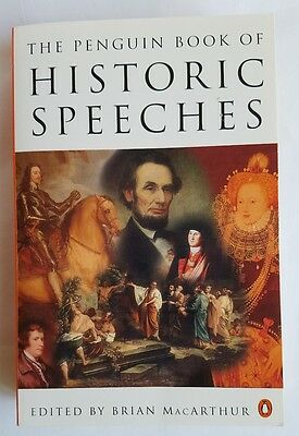 The Penguin Book of Historic Speeches Paperback Book