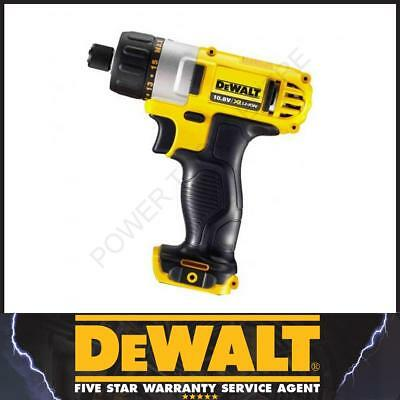 Dewalt Cordless DCF610 Naked Body Only 10.8V Sub Compact Drill Screwdriver