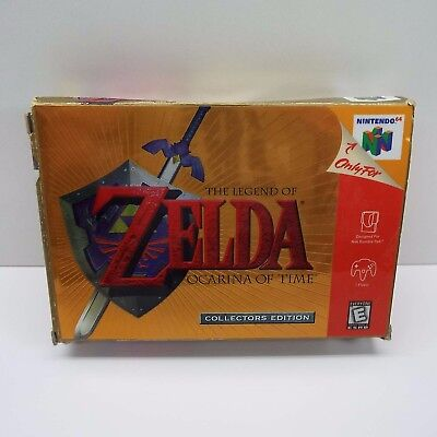 Legend Of Zelda: Ocarina Of Time Collector's Edition Nintendo 64 (Box Only) J200