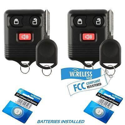 NEW 2005 MERCURY MOUNTAINEER 4-BUTTON KEYLESS ENTRY REMOTE 1-r12fx-dkr-updt-E