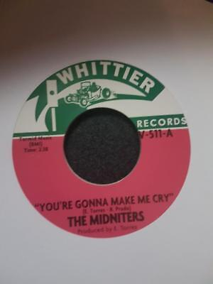 The Midnighters - You're Gonna Make Me Cry - Northern 45