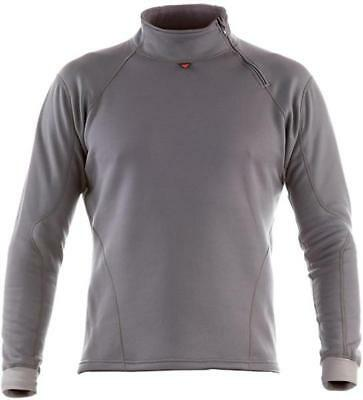 Dainese Top Map Mens Long Sleeve Thermal Shirt Gray