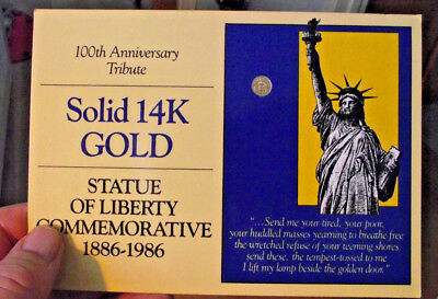 Commemorative-14K-Gold-Piece-100th-Anniversary (LOT B105) 1.965 GRAINS PURE GOLD