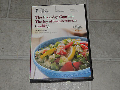 The Great Courses - Everyday Gourmet Joy of Mediterranean Cooking 3 DVD Set