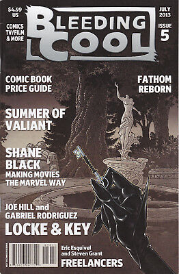 Bleeding Cool: Issue 5 (Magazine, July 2013)