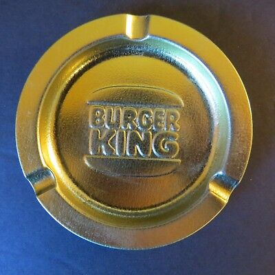 Vintage Burger King Metal Ashtray Whopper
