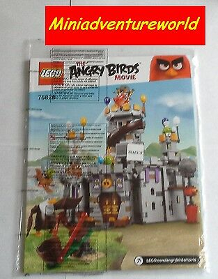 Lego BRAND NEW Instruction Book Manual 75826 King Pig's Castle