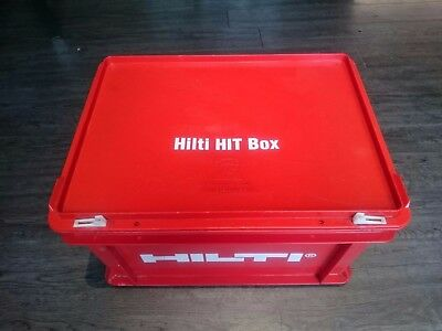 Hilti Hit box with applicator and other items