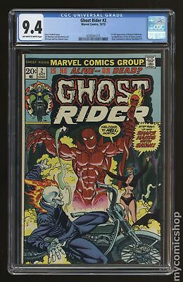 Ghost Rider (1973 1st Series) #2 CGC 9.4 0293341013