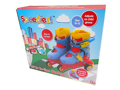 SPEEDIES! Tri to In-line Skates  Age 3 +   Size 10-13    Brand New & Boxed