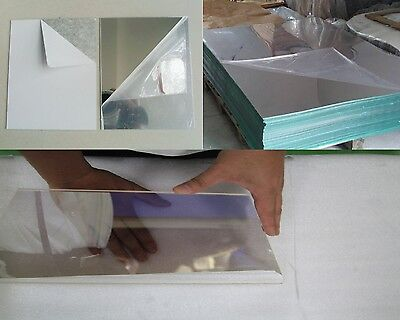 1 8 Silver 2 Way Looking Mirror Privacy Acrylic Plexiglas 125