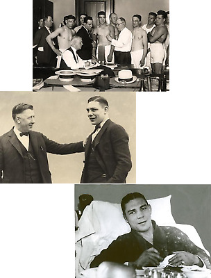 Harry Greb Middleweight Boxing Champion Job Lot Set Of Ten 6 X 4 Photographs