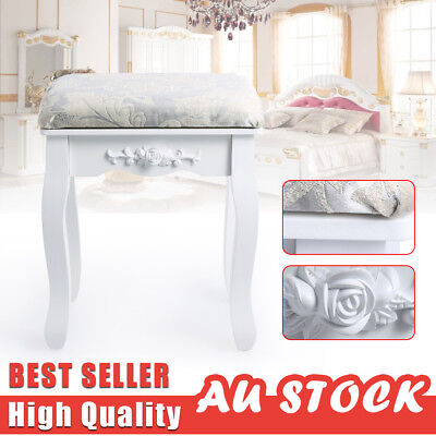 Luxury Dressing Table Stool Seat Piano Chair Padded Makeup Seat Keyboard Bench