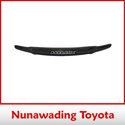 Genuine Toyota Hilux Tinted Bonnet Protector Superguard 9/2001-2/2005 Pzq1589040