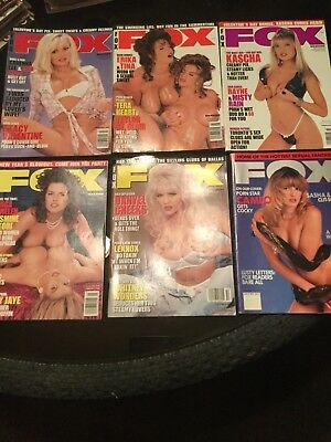 LOT FOX Magazine *VGC*
