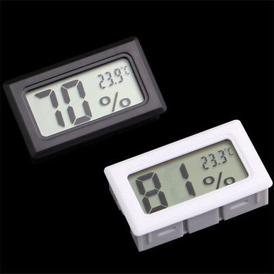 Mini Digital LCD Temperature Meter Humidity Thermometer Hygrometer Creative
