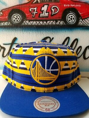 Mitchell and Ness NBA Golden State Warriors Snapback Hat