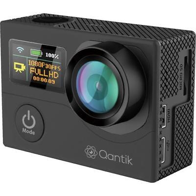 QANTIK SCOPE 170 Caméra de sport grand angle 4K Noire