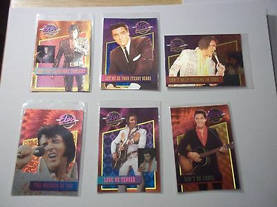 The Elvis Collection , Elvis Dufex chase card set #1-40